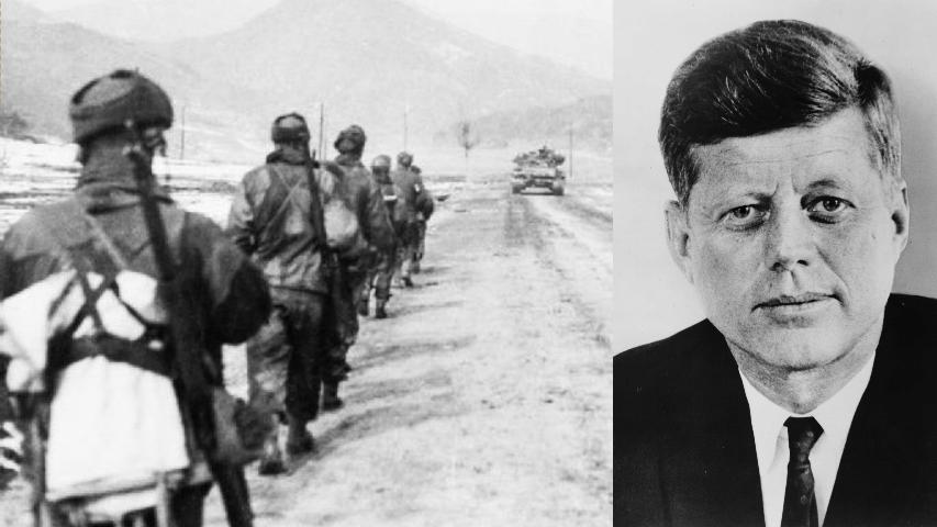 La guerra de Corea y la visita de John F. Kennedy a Colombia